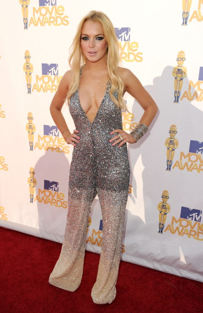 Lindsay Lohan Redcarpet Wallpapers