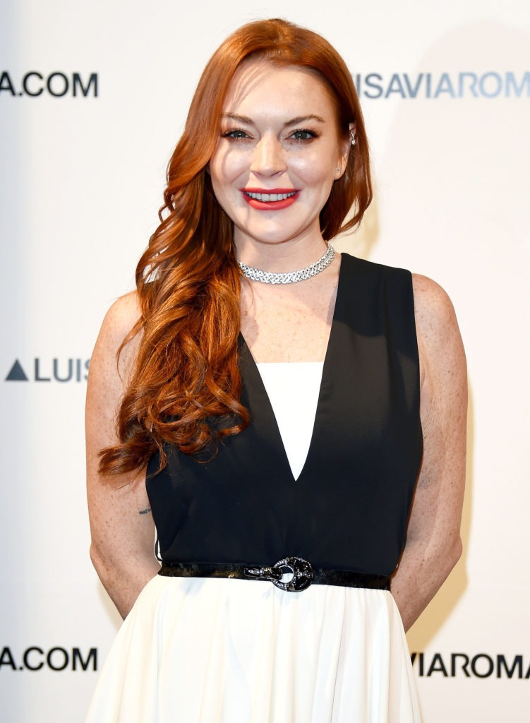 Lindsay Lohan Smile Face Wallpaeprs