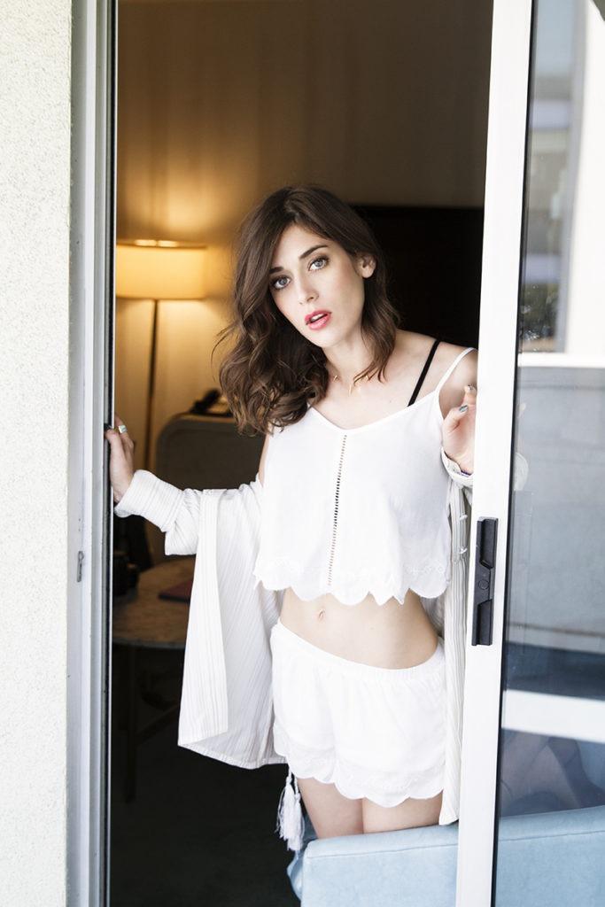Lizzy Caplan Undergarments Photos