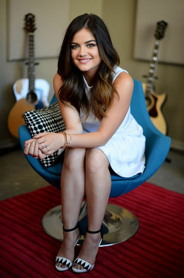 Lucy Hale Legs Photos