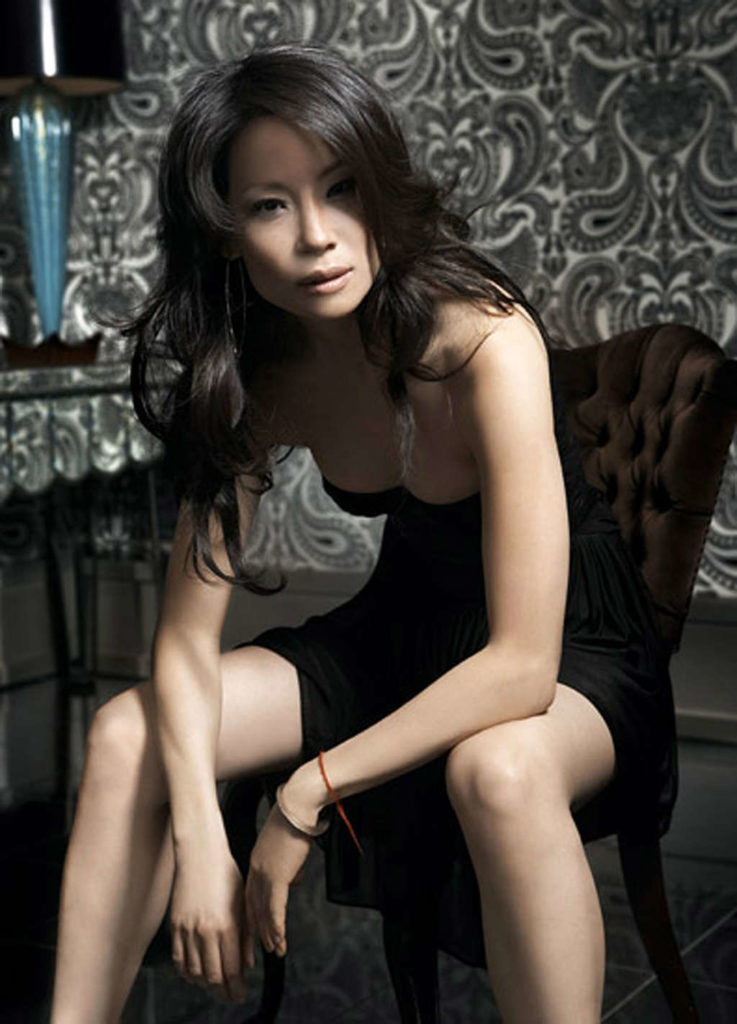 Lucy Liu Bikini Wallpaper