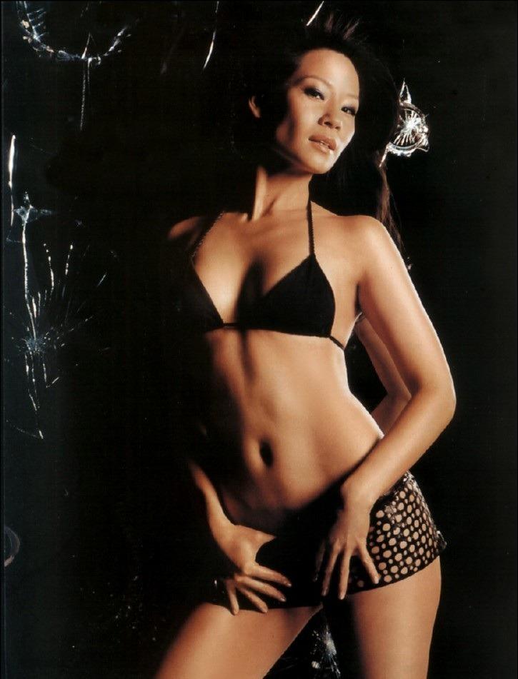 Lucy Liu Bra Panty Images