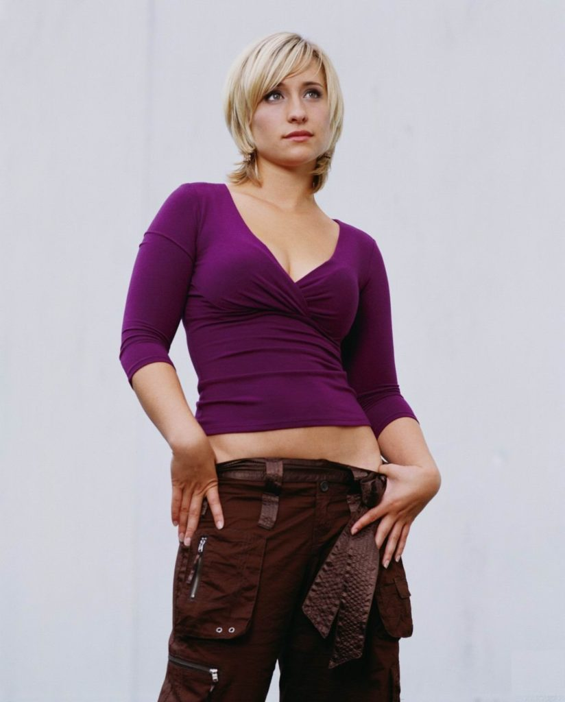 Allison Mack Navel Pics