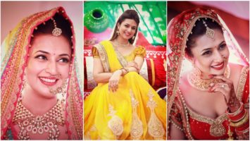 Divyanka Tripathi Hot Images Show Her Wedding Photos Navel In Saree