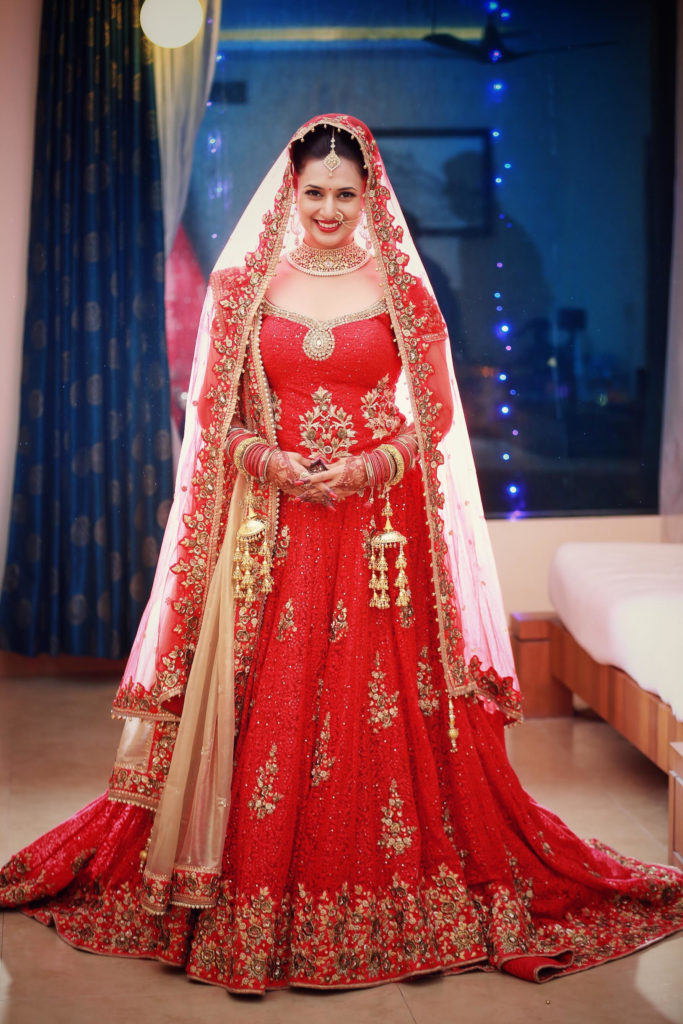 Divyanka Tripathi Wedding Photoshoots