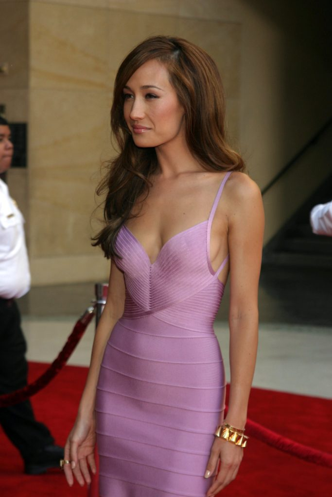 Maggie Q Redcarpet Photos