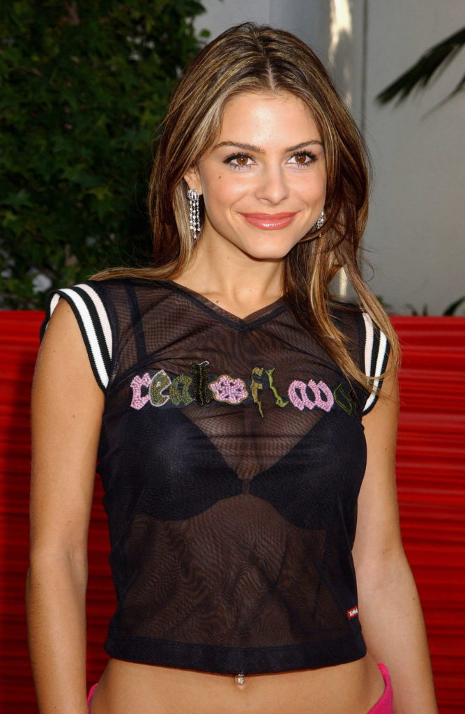 Maria Menounos Cute Smile Pics