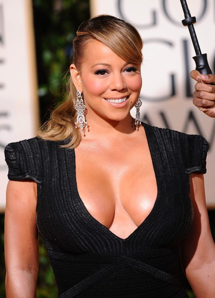 Mariah Carey Braless Pics