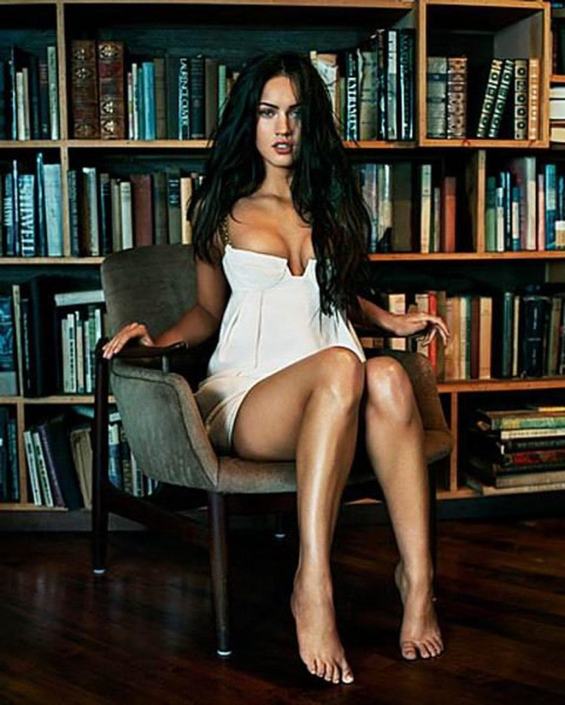 Megan Fox Cleavage Photos