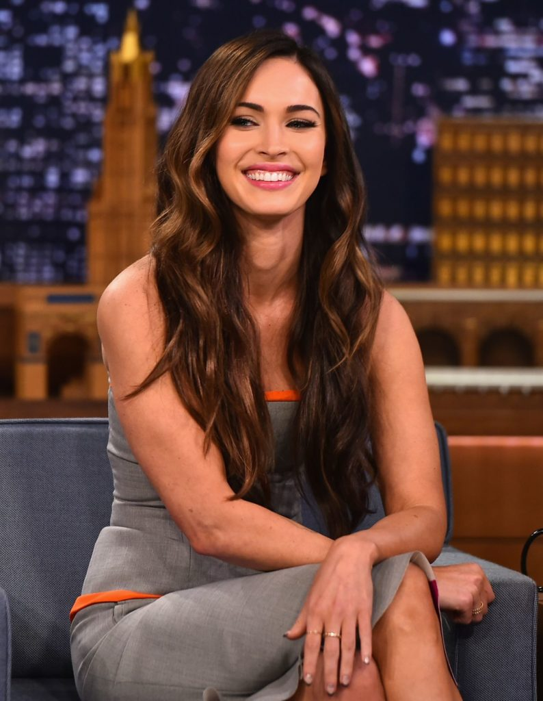 Megan Fox Smile Face Pics