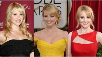 33 Hot Melissa Rauch Pictures Show Her Sexy Look In Bernadette Red Dress