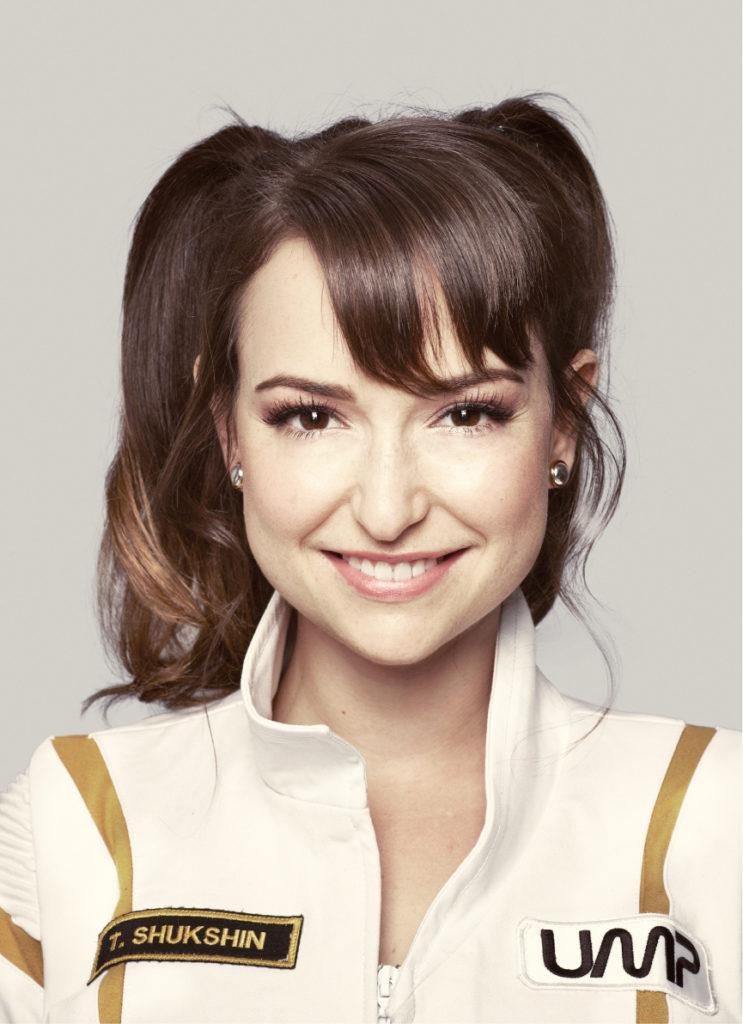 Milana Vayntrub Latest Hair Cut Pics