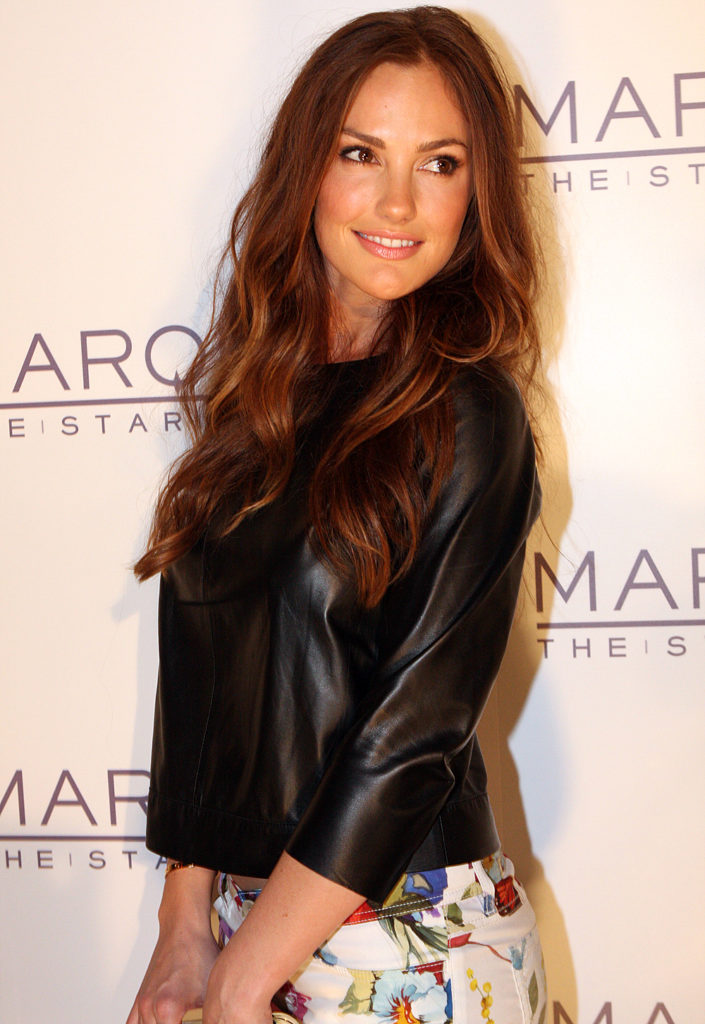 Minka Kelly Smile Face Pics