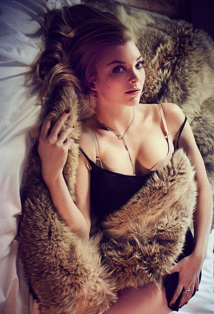 Natalie Dormer Hot Boobs Photoshoots