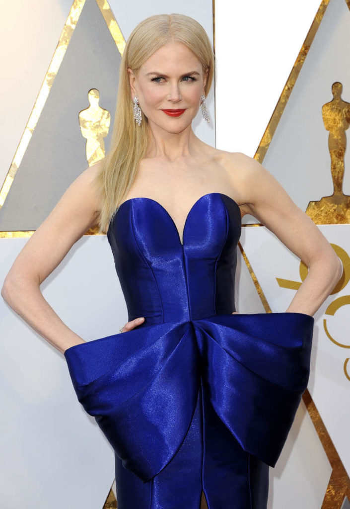Nicole Kidman Hot Cleavage Pics