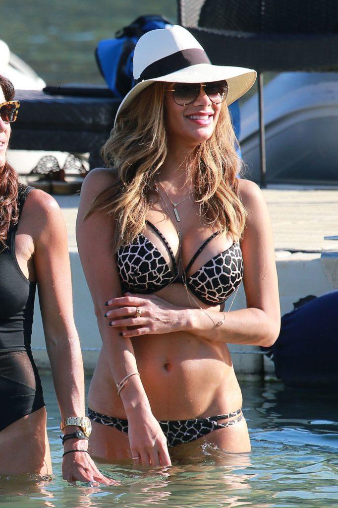 Nicole Scherzinger Images In Lingerie