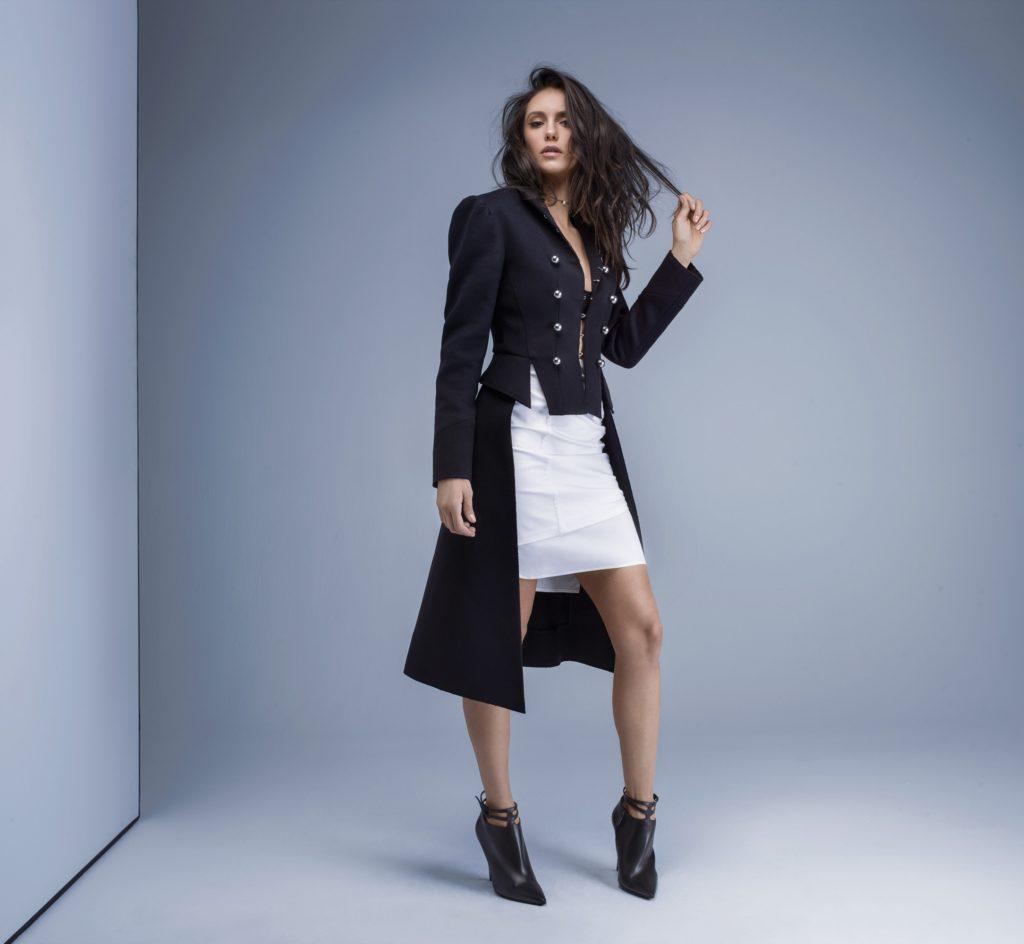 Nina Dobrev Images In Shorts