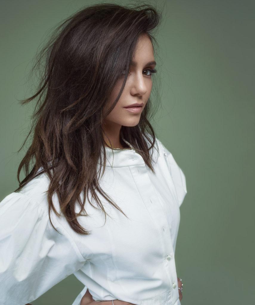 Nina Dobrev New Look Pics