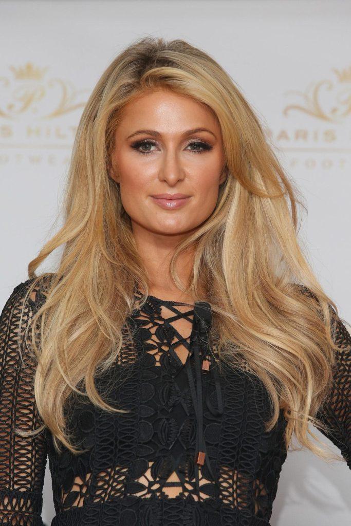 Paris Hilton New Hair Cut Images