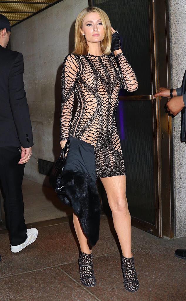 Paris Hilton Undergarments Pics
