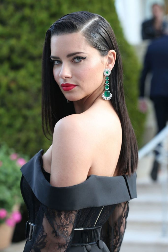 Adriana Lima Backless Images