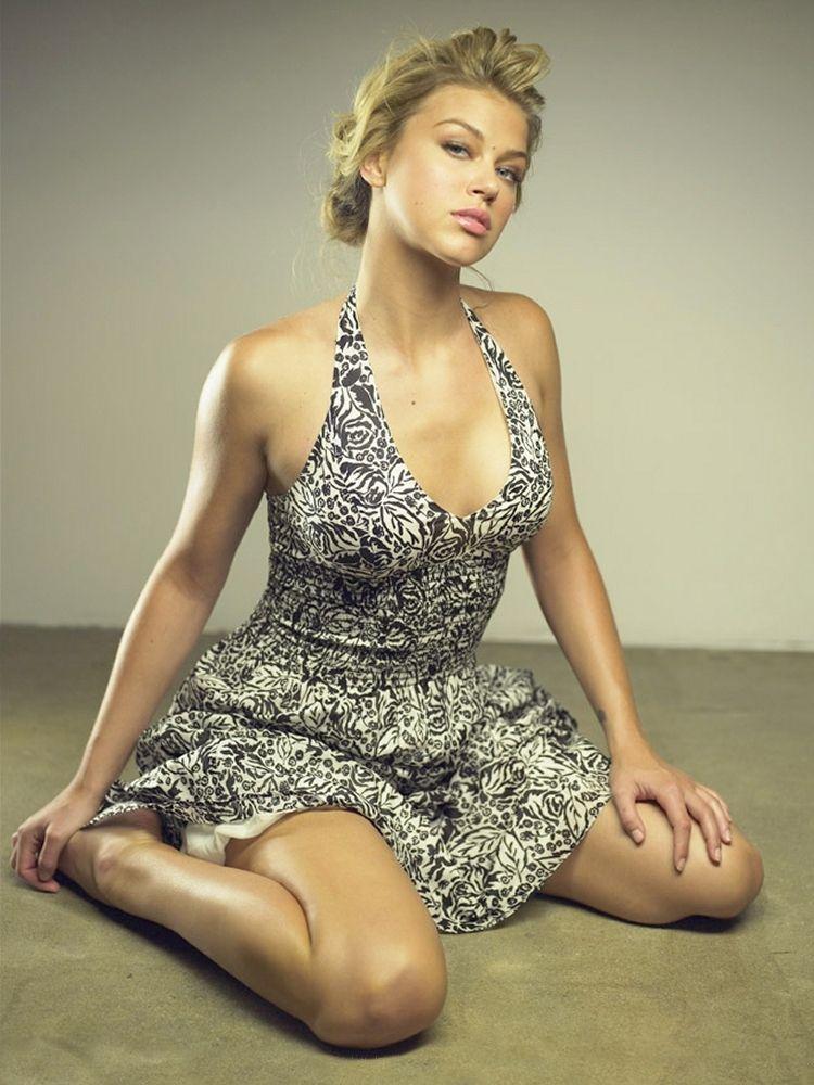 Adrianne Palicki Undergarments Photoshoot