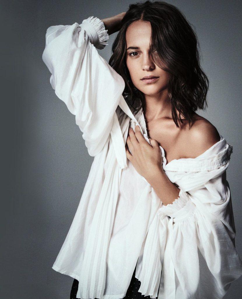 Alicia Vikander Short Hair Pics