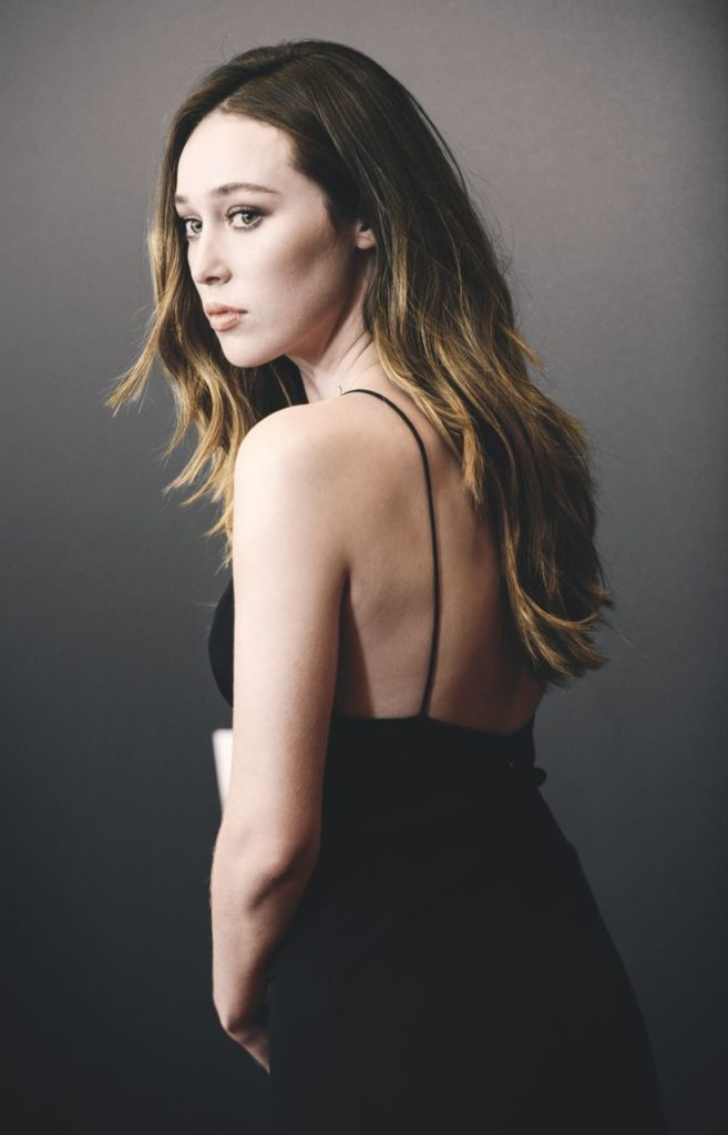 Alycia Debnam-Carey Backless Images