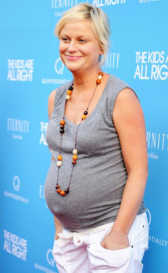Amy Poehler Pregnant Images