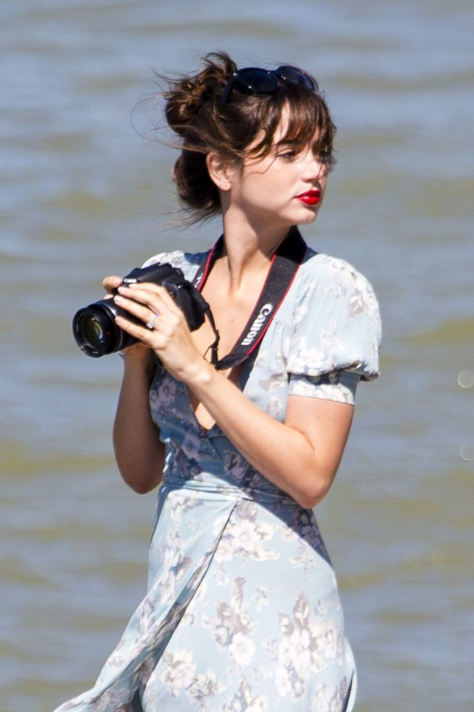 Ana de Armas At Beach Pics