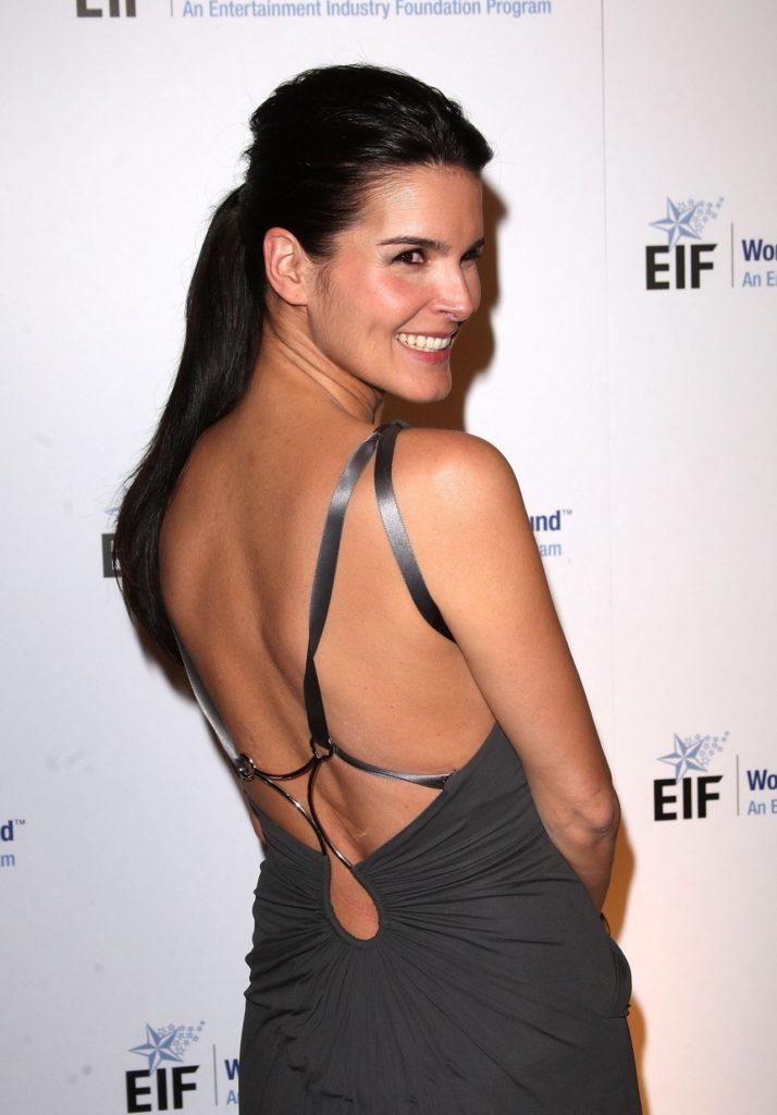 Angie Harmon Backless Pics