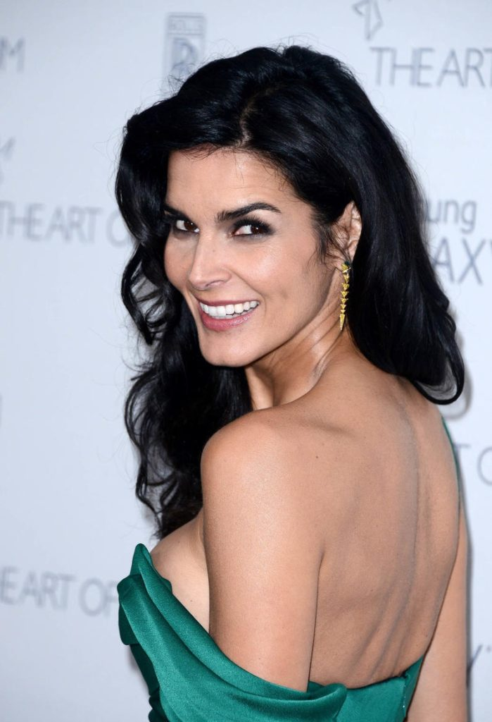 Angie Harmon Sexy Backless Images