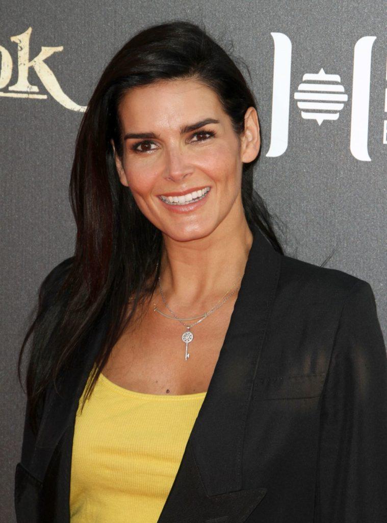Angie Harmon Smiling Pics