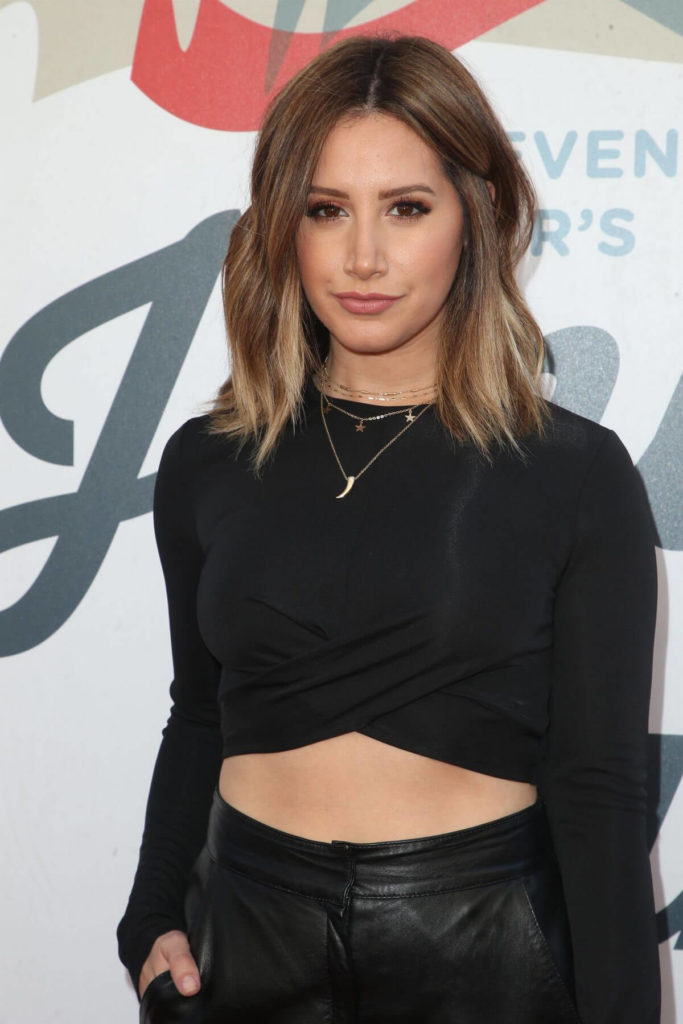 Ashley Tisdale Hot Navel Photos