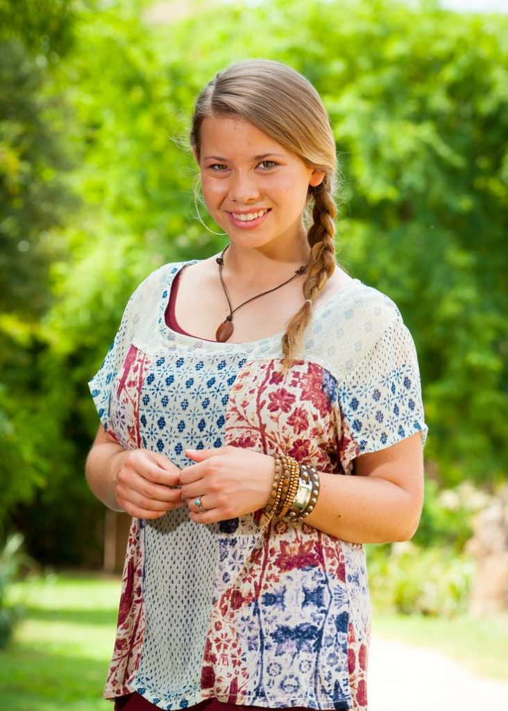 Bindi Irwin Smiling Images