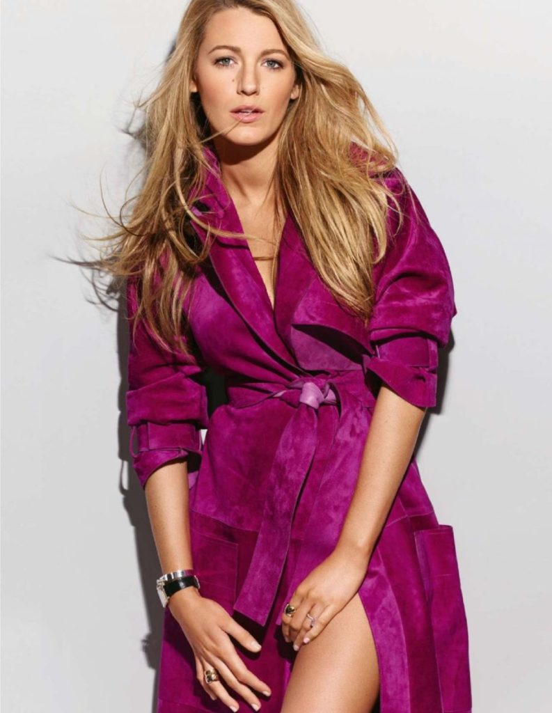 Blake Lively In Pink Clothes Images