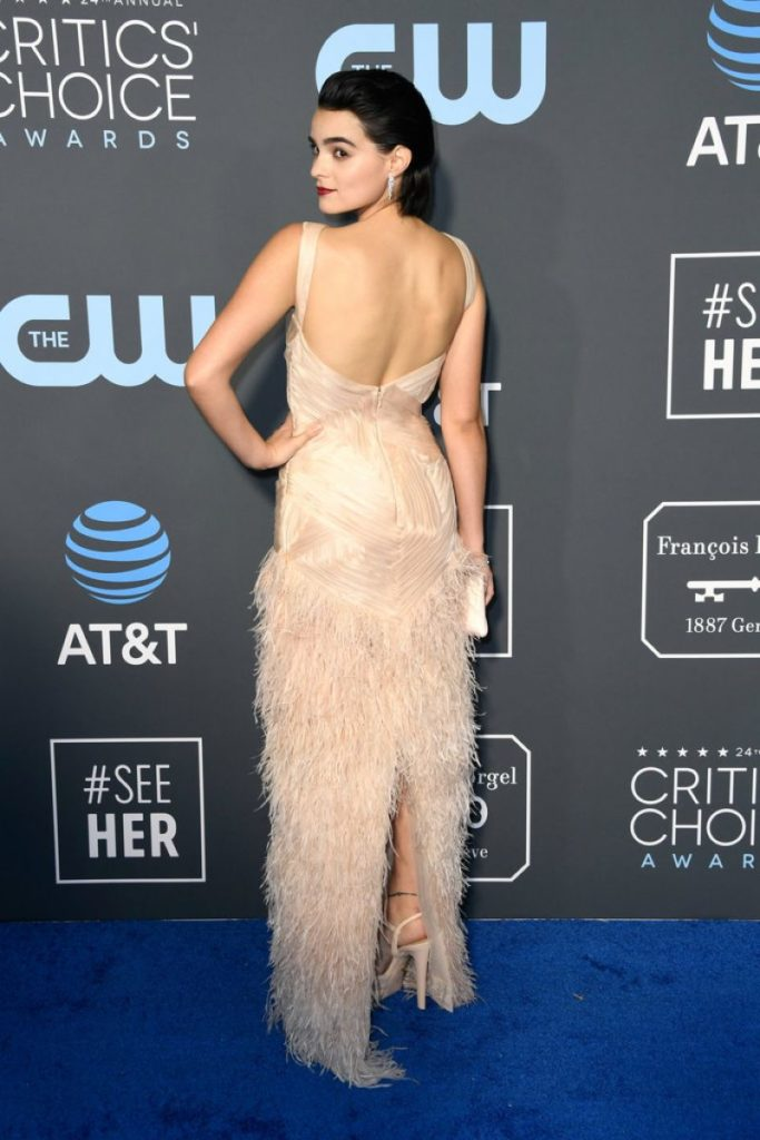 Brianna Hildebrand Backless Clothes Pictures