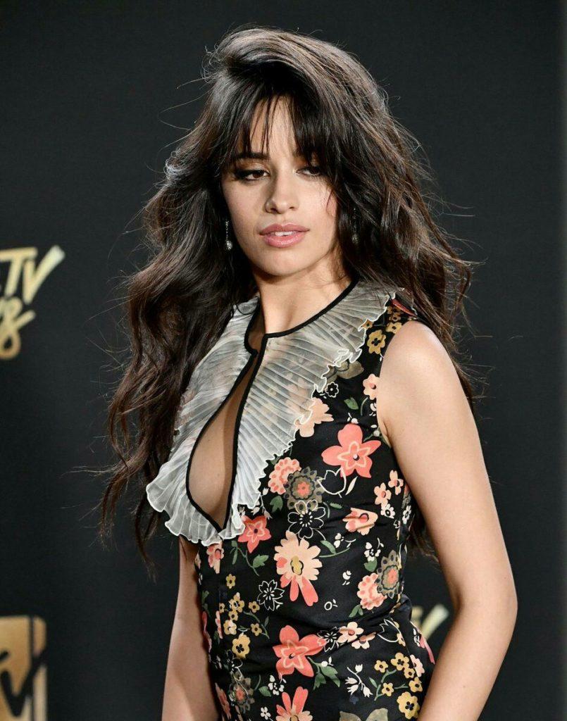 Camila Cabello Hair Style Pics