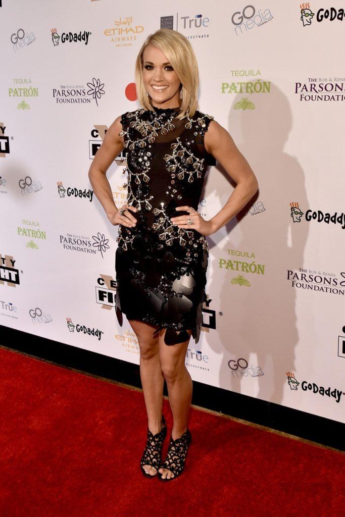 Carrie Underwood Legs Photoshoot
