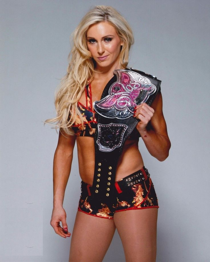 Charlotte Flair In Undergarments Photos