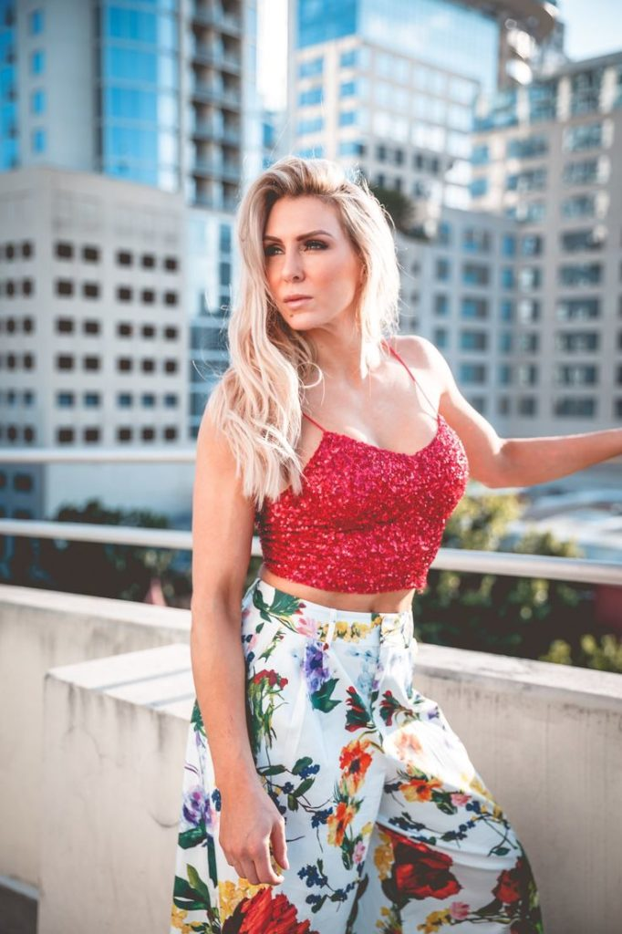 Charlotte Flair Leggings Images