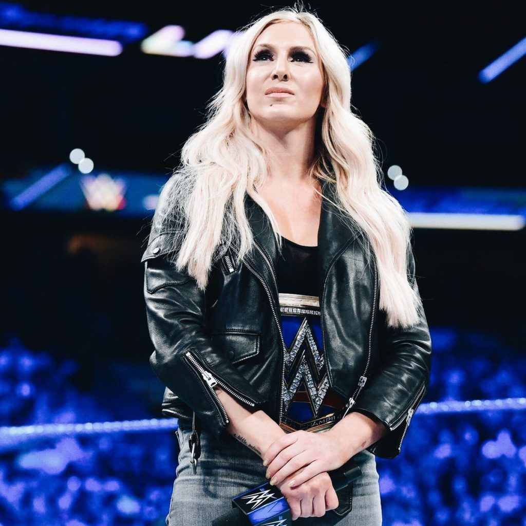 Charlotte Flair On The Stage Images