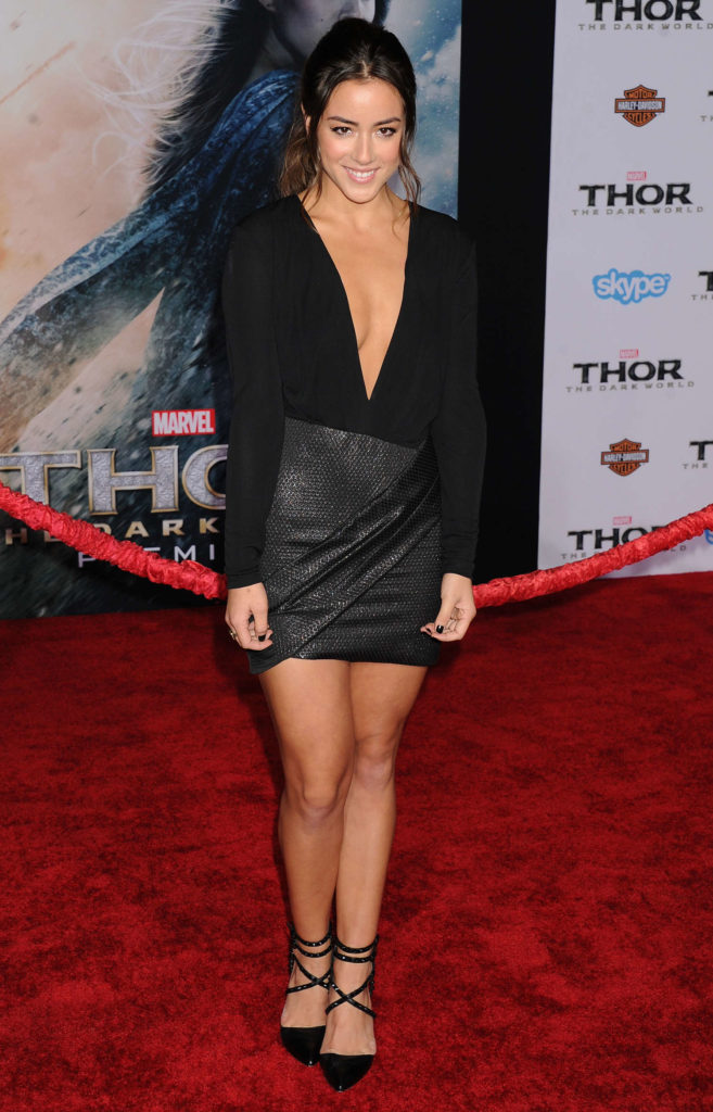 Chloe Bennet High Heals Images