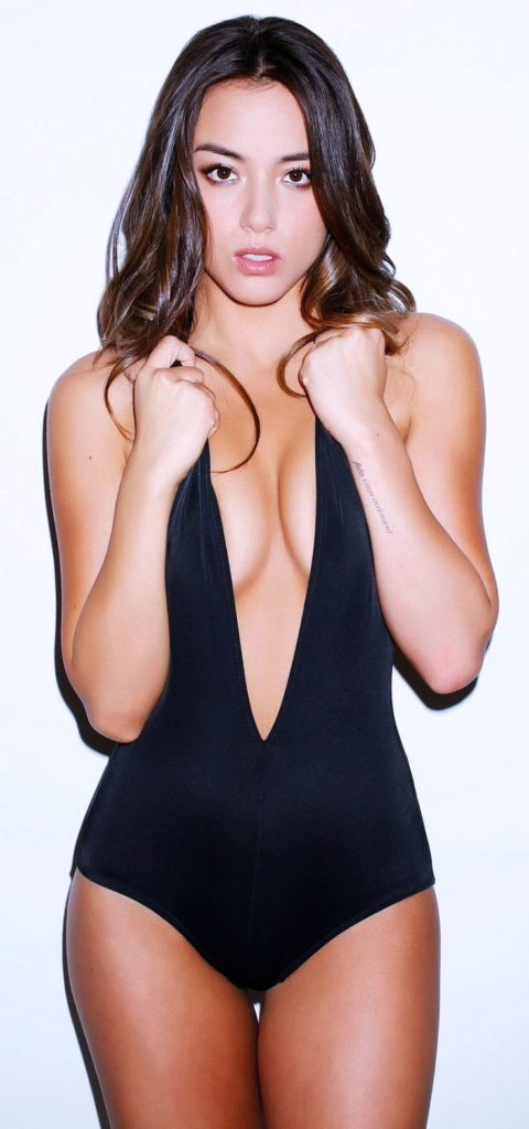 Chloe Bennet Swimsuit Images