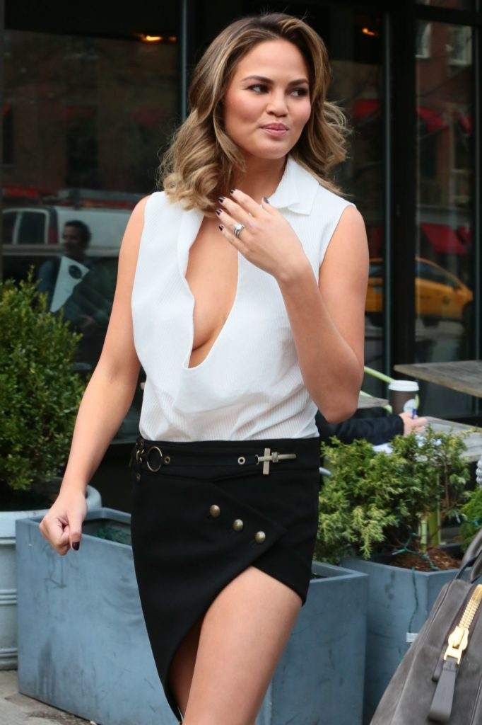 Chrissy Teigen Undergarments Photos