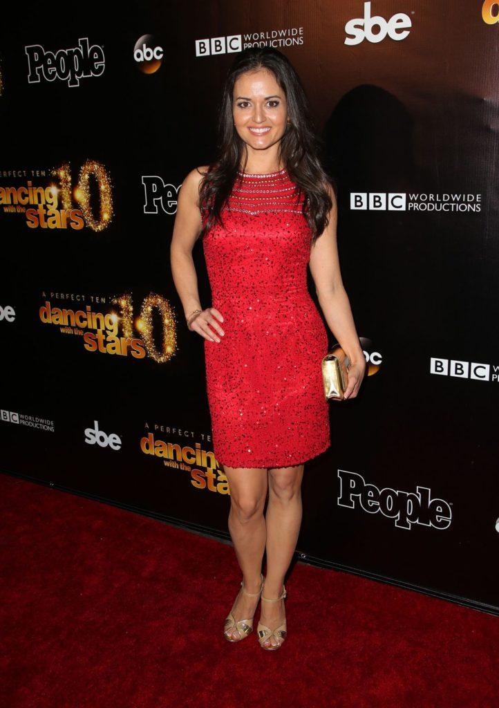 Danica McKellar In Red Clothes Photos
