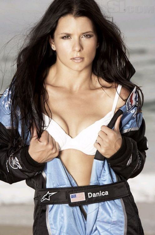 Danica Patrick Bra Photos