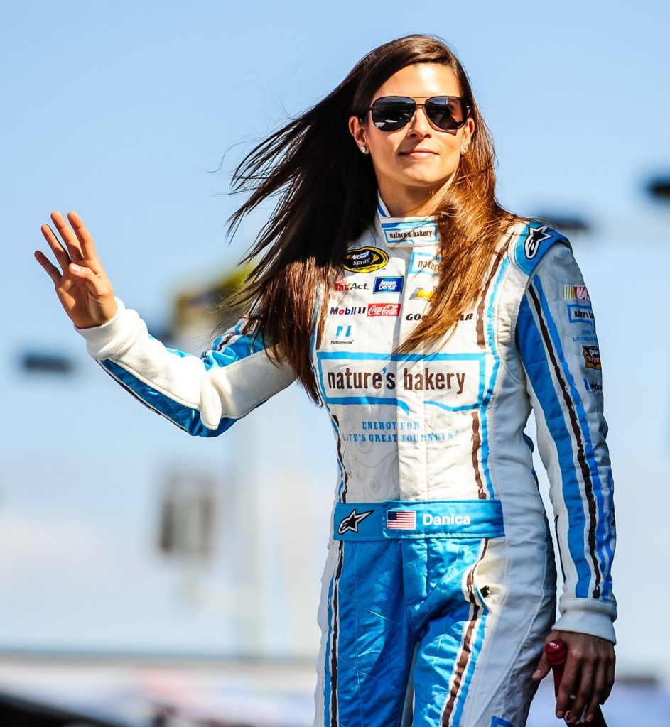 Danica Patrick Movie Look Photos