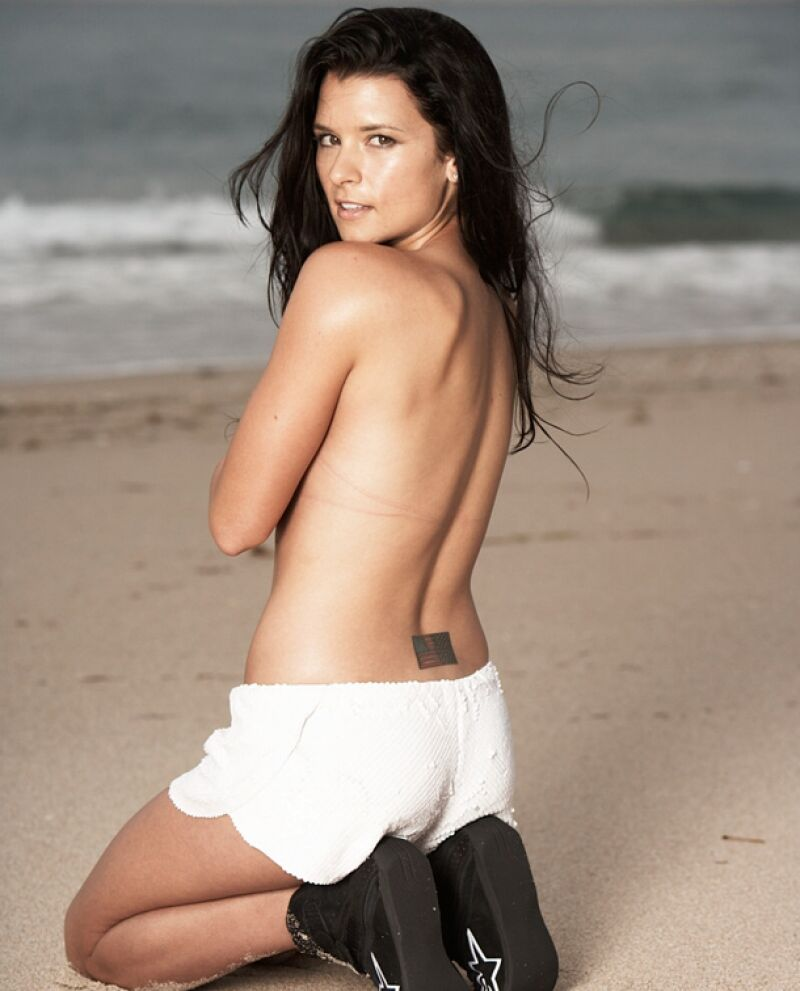 Danica Patrick Panty Pics On The Beach