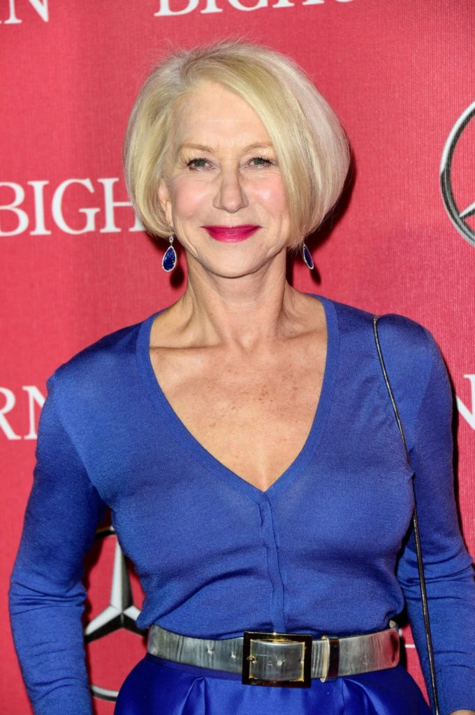 Helen Mirren Braless Photos